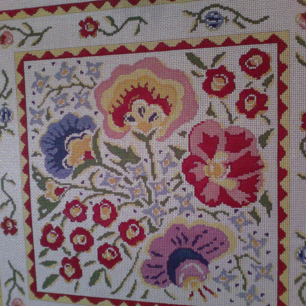 Canvas COUNTRY FLORAL  BF407
