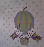 Canvas HOT AIR BALLOON  PIL225