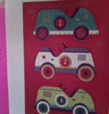 Canvas PEDAL CARS  M484