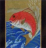 Canvas KOI ON BLUE  B71A