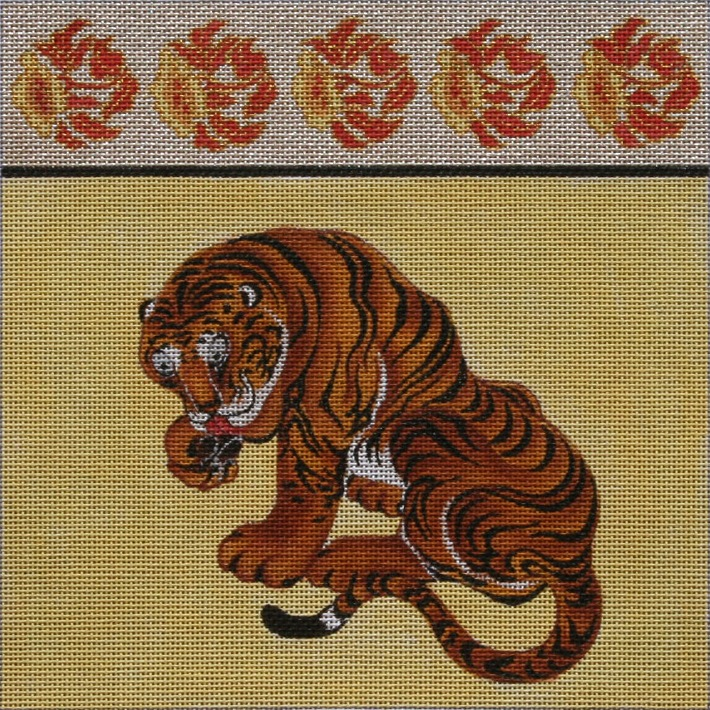 Canvas TIGER PURSE  P01D