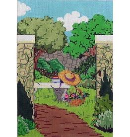 Canvas SALE  -  SECRET GARDEN  WITH GATE  PS13  REG $118