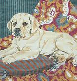 Canvas LAB PUPPY  BR65