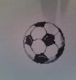 Canvas SOCCER BALL  2323