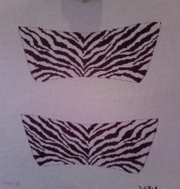 Canvas SALE  -  ZEBRA SHOES UPPER  MSK111   REG $82