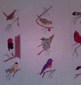 Canvas BIRD LUGGAGE STRAPS  465P