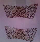 Canvas SALE  -  LEOPARD SHOE UPPERS MSK347 REG $82