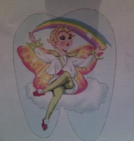 Canvas RAINBOW TOOTH FAIRY  BR210