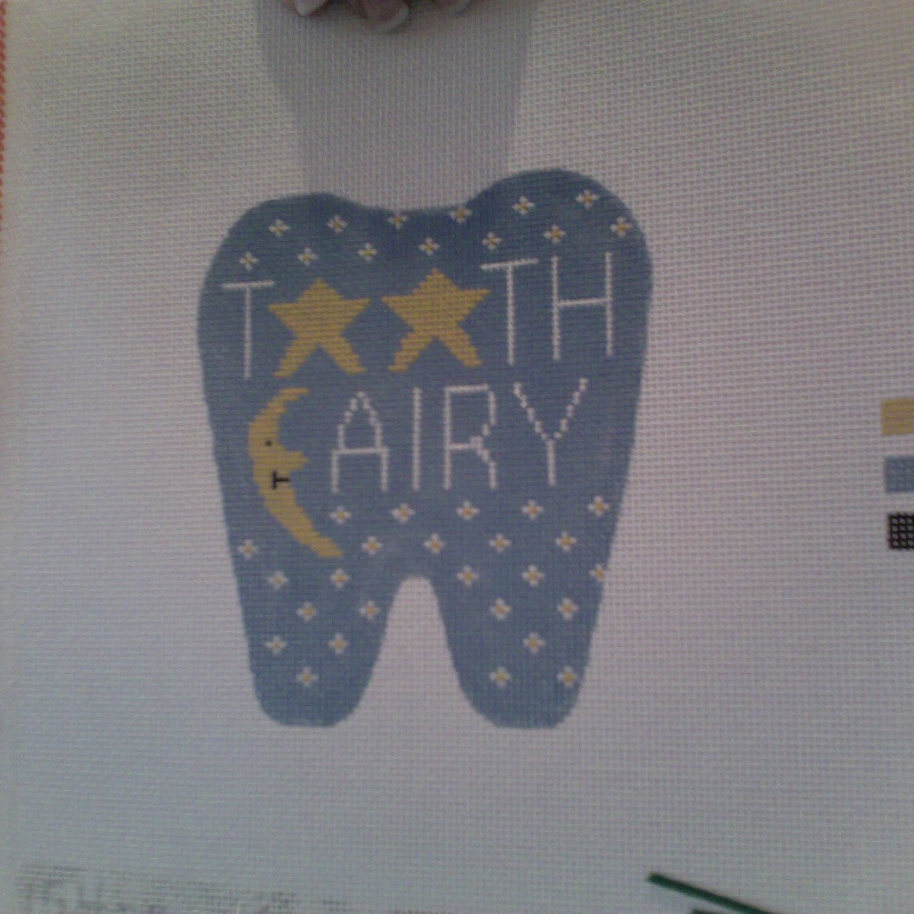 Canvas STARS AND MOON TOOTH FAIRY  154P