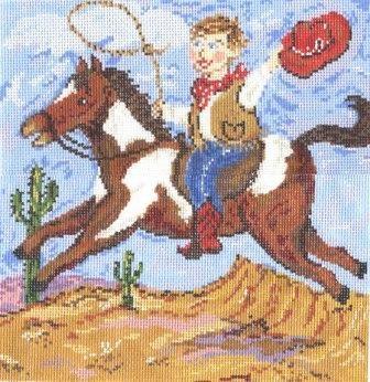 Canvas RIDE'M COWBOY  MML908