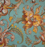 Canvas BAROQUE WITH TEAL  DL009