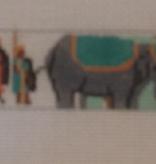 Canvas INDIAN ELEPHANTS BELT BT1051
