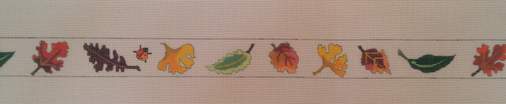 Canvas LADYBUGS AND FALL LEAVES BELT  185300