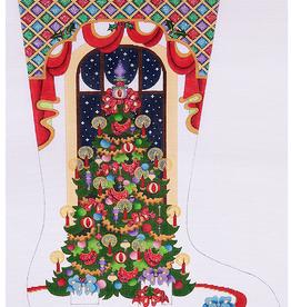 Canvas TREE WITH PRESENTS  CS399