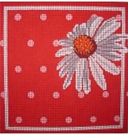 Canvas WHITE DAISY  PDG029
