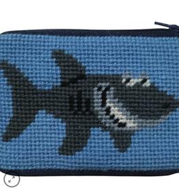 Canvas SHARK COIN PURSE  SZ8103