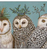 Canvas WINTER OWLS  VS212