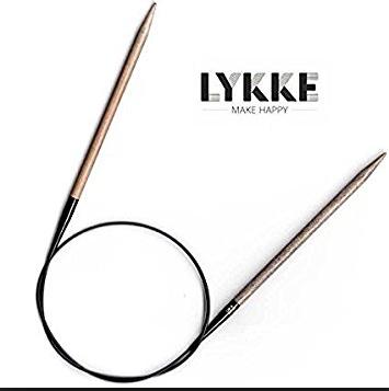 "Needles LYKKE CIRC #8 24"""