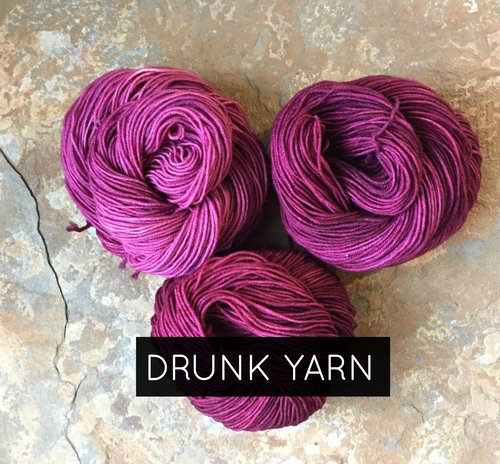 Yarn DRUNK YARNS KIT - GRADIENT WORSTED