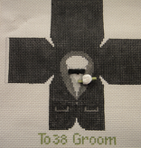 Canvas GROOM TOPPER  TO38