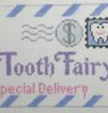 Canvas TOOTH FAIRY LETTER PILLOW 109