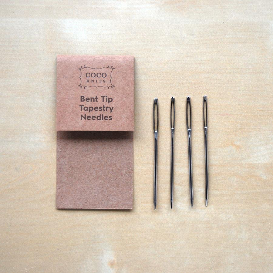 Accessories BENT TIP TAPESTRY NEEDLES 4 PAK  COCOKNITS