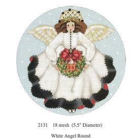 Canvas WHITE ANGEL ROUND 2131