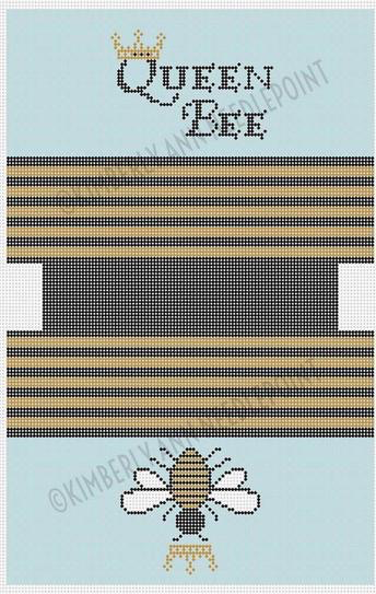 Canvas QUEEN BEE TOILETRIES BAG  MB10 LARGE