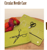 Accessories CIRCULAR NEEDLE CASE  FELTED WOOL