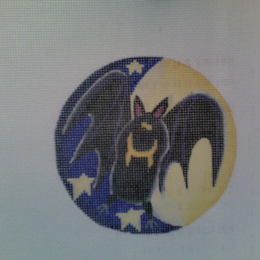 Canvas Crazy Bat  720b Rebecca Wood