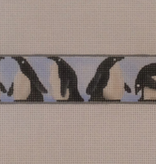 Canvas Penguins belt  901d Rebecca Wood