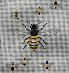 Canvas BIG BEE ON RED BRICK COVER  BC022R