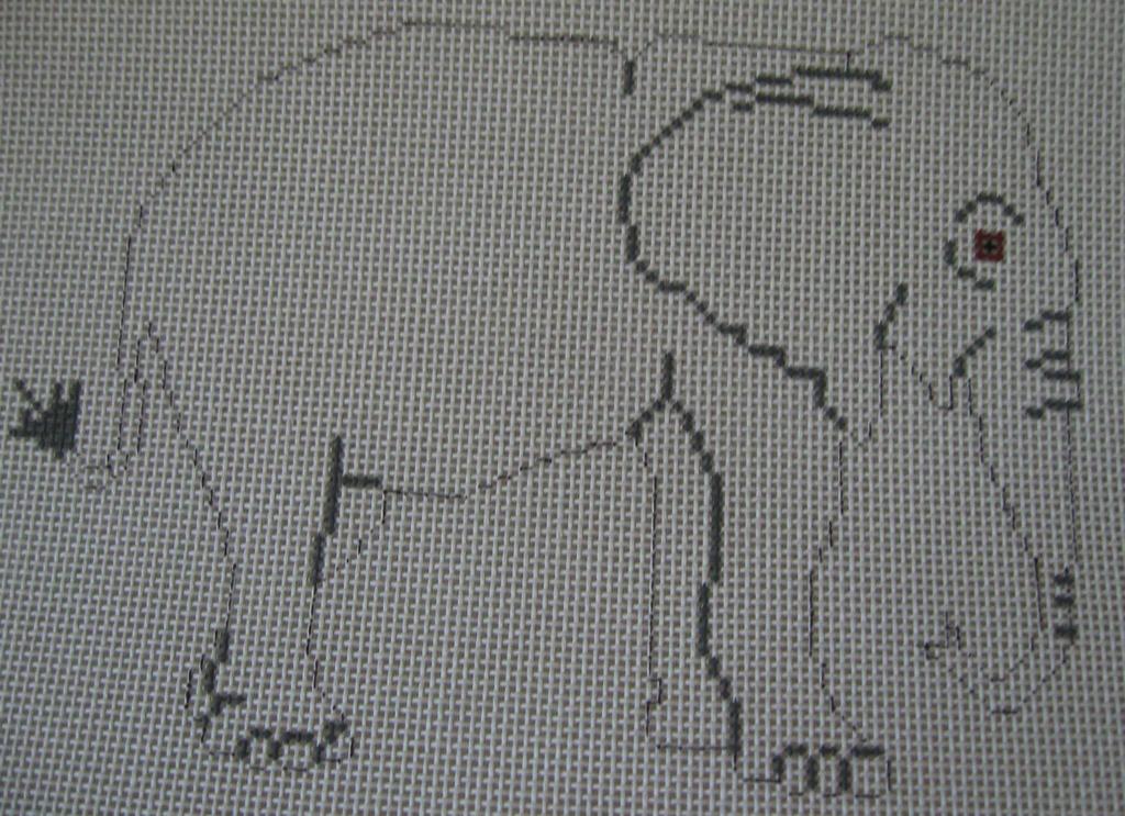 Canvas ELEPHANT PT687