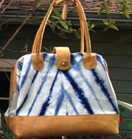 Accessories SAGE LUXURY BAG - INDIGO SHIBORI