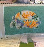 Canvas GOLDFISH PILLOW FINISHING BY MARLENES