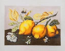 Canvas SMALL LEMONS  1842