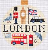 Canvas TRAVEL ROUND-  LONDON  KB1259
