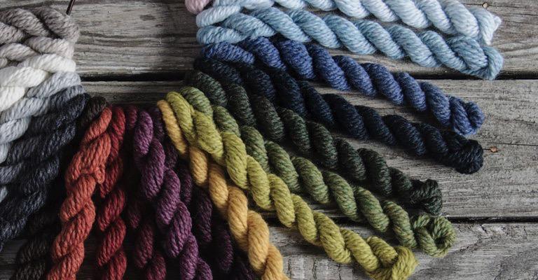 Yarn WOOLSTOK MINI BUNDLES BLUE SKY 21 Color Slouch Hat Kit