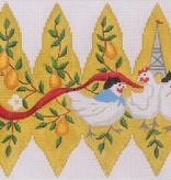 Canvas CHRISTMAS PEAR ORNAMENT DAY 3   XM96
