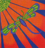 Canvas DRAGONFLY SQUARE  ZE286