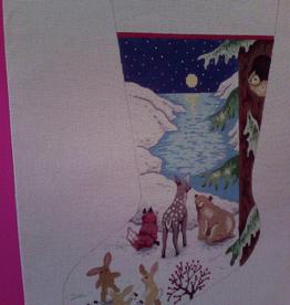 Canvas WOODLAND ICE FLOW 010H