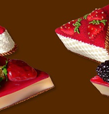 Canvas STRAWBERRY CHEESECAKE CANVAS CANDY