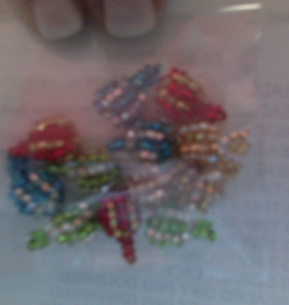 Buttons, Pins SMALL BEADED ORNAMENTS