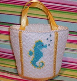 Canvas BEACH BAG GIRL BUGGY  LL180DK