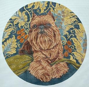 Canvas BRUSSELLS GRIFFON  BR339