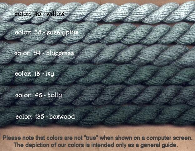 Fibers Silk and Ivory    EUCALYPTUS