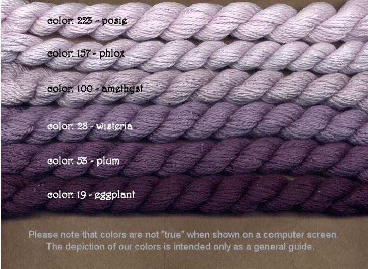Fibers Silk and Ivory    PLUM
