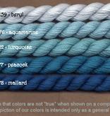 Fibers Silk and Ivory    AQUAMARINE