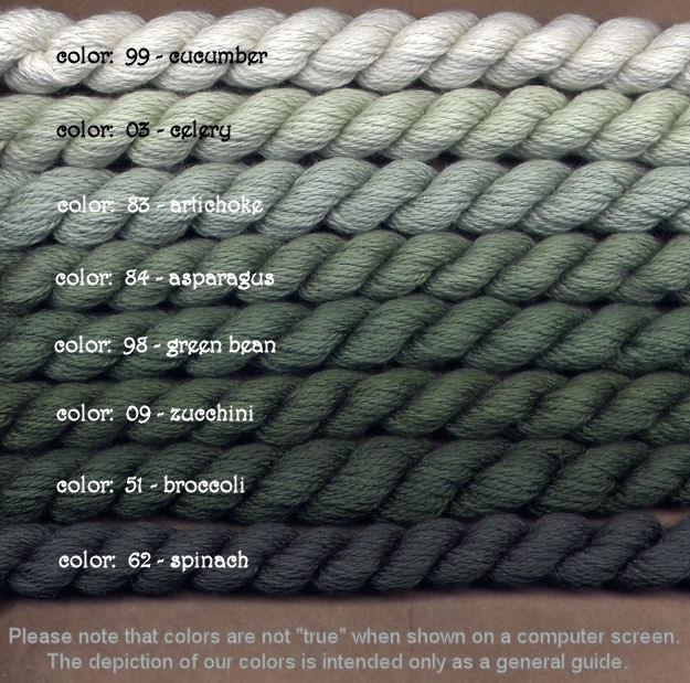 Fibers Silk and Ivory    ASPARAGUS
