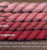 Fibers Silk and Ivory    POMEGRANITE